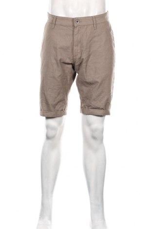 Pánské kraťasy Q/S by S.Oliver, Velikost XL, Barva Hnědá, 78% bavlna, 22% polyester, Cena  603,00Kč
