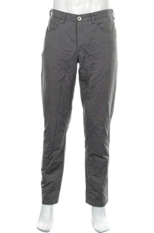 Pantaloni de bărbați Atelier GARDEUR, Mărime M, Culoare Gri, 69% poliester, 29% viscoză, 2% elastan, Preț 75,60 Lei