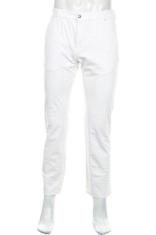 Мъжки панталон Alberto, Размер S, Цвят Бял, 93% полиамид, 7% еластан, Цена 39,00лв.