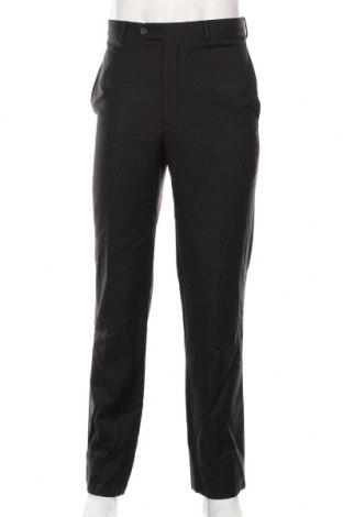Мъжки панталон Alfred Sung, Размер S, Цвят Черен, Вълна, Цена 44,10лв.