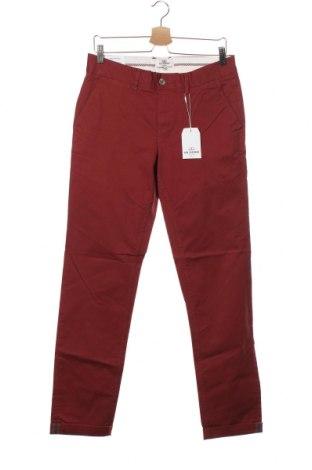 Pantaloni de bărbați Ben Sherman, Mărime S, Culoare Roșu, 97% bumbac, 3% elastan, Preț 389,14 Lei