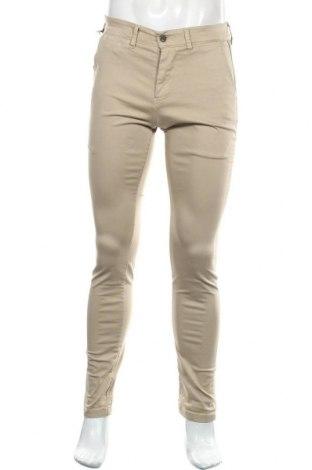 Pantaloni de bărbați Le Temps Des Cerises, Mărime M, Culoare Bej, 98% bumbac, 2% elastan, Preț 194,90 Lei