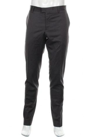 Ανδρικό παντελόνι Matinique, Μέγεθος L, Χρώμα Γκρί, 50% μαλλί, 48% πολυεστέρας, 2% ελαστάνη, Τιμή 24,12€