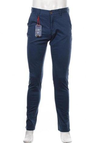 Pantaloni de bărbați New Zealand Auckland, Mărime S, Culoare Albastru, 98% bumbac, 2% elastan, Preț 441,62 Lei