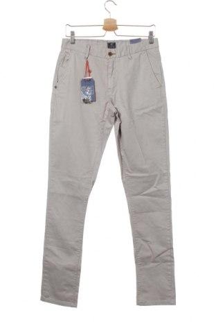 Pantaloni de bărbați New Zealand Auckland, Mărime S, Culoare Bej, 98% bumbac, 2% elastan, Preț 441,62 Lei