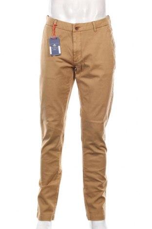 Pantaloni de bărbați New Zealand Auckland, Mărime M, Culoare Bej, 98% bumbac, 2% elastan, Preț 416,94 Lei