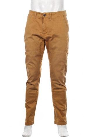 Pantaloni de bărbați Pepe Jeans, Mărime L, Culoare Galben, 98% bumbac, 2% elastan, Preț 389,14 Lei