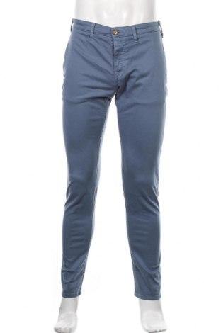 Pantaloni de bărbați Pepe Jeans, Mărime M, Culoare Albastru, 97% bumbac, 3% elastan, Preț 389,14 Lei