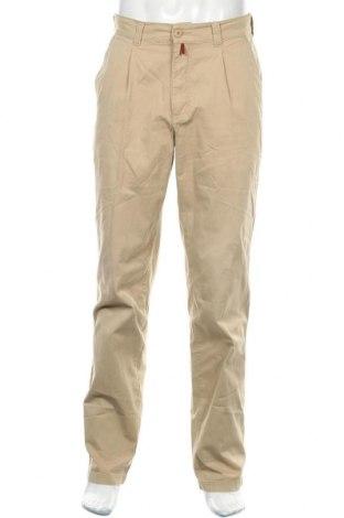 Ανδρικό παντελόνι Pierre Cardin, Μέγεθος M, Χρώμα  Μπέζ, 98% βαμβάκι, 2% ελαστάνη, Τιμή 32,16€