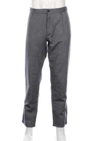 Pantaloni de bărbați Sisley, Mărime XL, Culoare Albastru, Bumbac, Preț 268,91 Lei