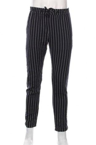 Мъжки панталон Topman, Размер L, Цвят Син, 65% полиестер, 35% вискоза, Цена 24,15лв.