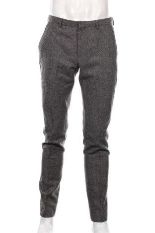 Мъжки панталон Topman, Размер L, Цвят Сив, 45% вълна, 42% полиестер, 13% други нишки, Цена 35,70лв.