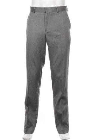 Мъжки панталон Topman, Размер L, Цвят Сив, 64% полиестер, 34% вискоза, 2% еластан, Цена 35,70лв.