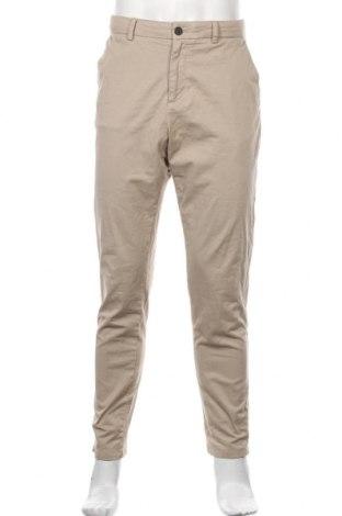 Pánské kalhoty  Zara, Velikost M, Barva Béžová, 97% bavlna, 3% elastan, Cena  234,00Kč
