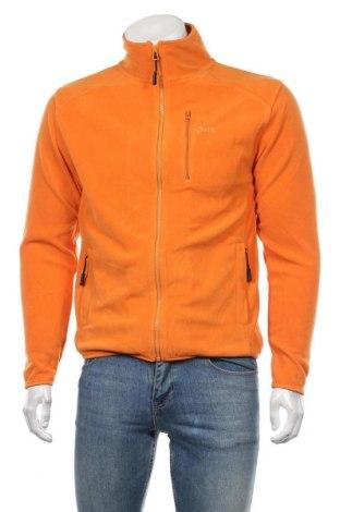 Мъжко поларено горнище K Tec, Размер S, Цвят Оранжев, Полиестер, Цена 22,05лв.