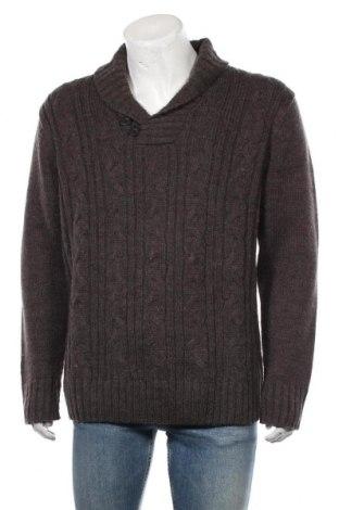 Ανδρικό πουλόβερ Angelo Litrico, Μέγεθος XL, Χρώμα Καφέ, Τιμή 18,19€
