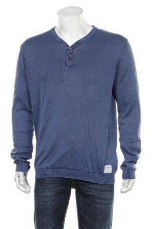 Pulover de bărbați Edc By Esprit, Mărime XL, Culoare Albastru, Bumbac, Preț 106,11 Lei