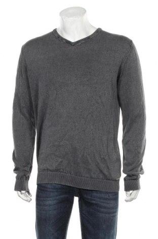 Pulover de bărbați Edc By Esprit, Mărime XL, Culoare Gri, Bumbac, Preț 106,11 Lei
