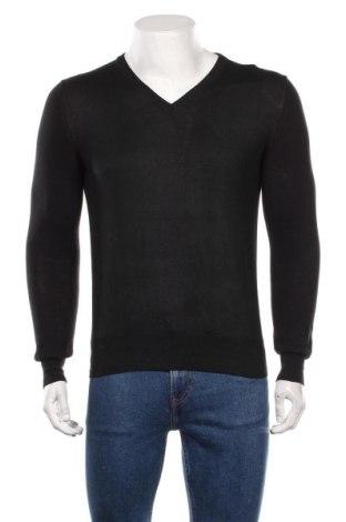 Мъжки пуловер Karl Lagerfeld, Размер M, Цвят Черен, Вълна, Цена 94,50лв.