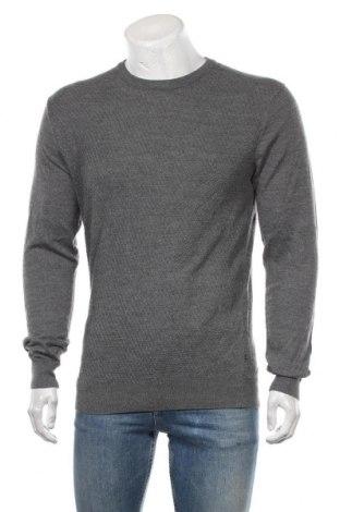 Ανδρικό πουλόβερ Matinique, Μέγεθος M, Χρώμα Γκρί, 50% μαλλί, 50%ακρυλικό, Τιμή 33,77€