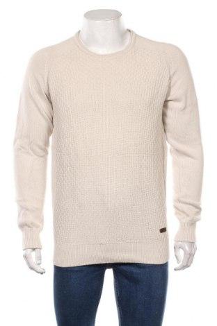 Мъжки пуловер Signal, Размер M, Цвят Екрю, Памук, Цена 23,94лв.