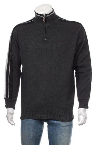 Мъжки пуловер Signal, Размер L, Цвят Сив, 100% памук, Цена 27,93лв.