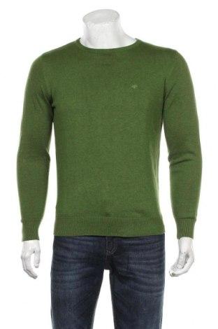 Ανδρικό πουλόβερ Tom Tailor, Μέγεθος S, Χρώμα Πράσινο, Βαμβάκι, Τιμή 28,45€