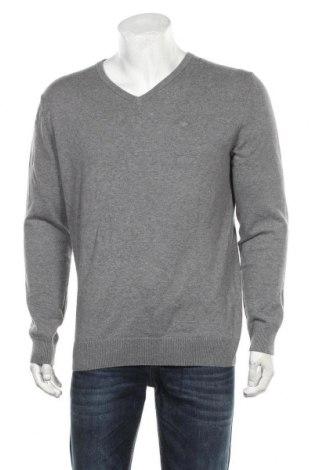 Pulover de bărbați Tom Tailor, Mărime XL, Culoare Gri, Bumbac, Preț 94,70 Lei