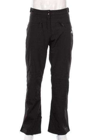 Pantaloni trening de bărbați Trespass, Mărime XL, Culoare Negru, 94% poliester, 6% elastan, Preț 266,45 Lei