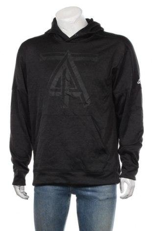 Мъжки суичър Adidas, Размер L, Цвят Черен, Полиестер, Цена 48,30лв.