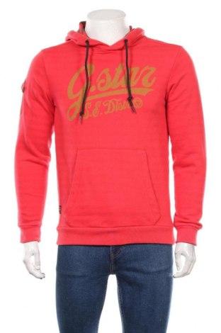 Мъжки суичър G-Star Raw, Размер S, Цвят Червен, 70% памук, 30% полиестер, Цена 43,05лв.
