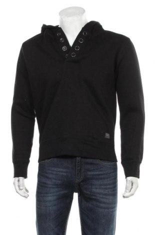 Мъжки суичър Jack & Jones, Размер M, Цвят Черен, 80% памук, 20% полиестер, Цена 32,55лв.