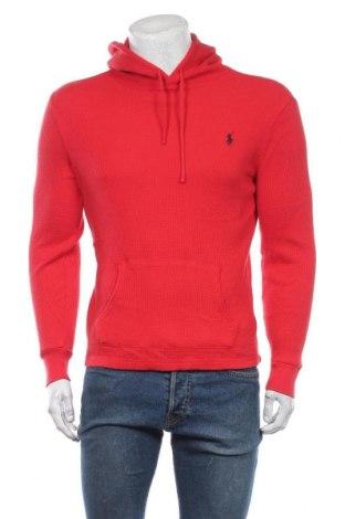 Мъжки суичър Polo By Ralph Lauren, Размер M, Цвят Червен, Памук, Цена 39,90лв.