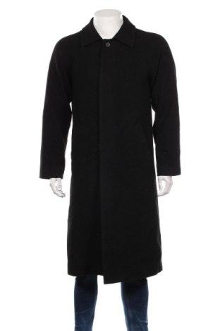 Palton de bărbați, Mărime M, Culoare Negru, 80% lână, 20% poliamidă, Preț 252,00 Lei