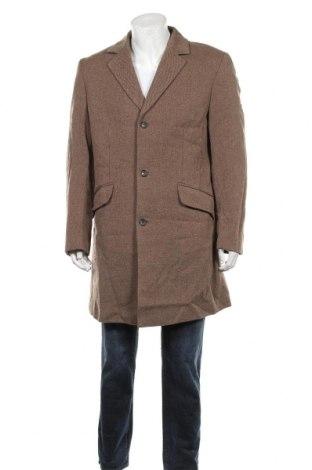 Palton de bărbați Cinque, Mărime L, Culoare Bej, 80% lână, 20% poliamidă, Preț 411,16 Lei