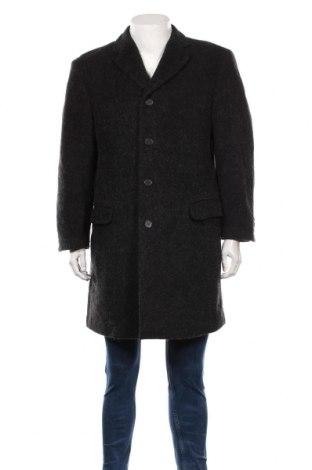 Palton de bărbați Cinque, Mărime M, Culoare Negru, 68% lână, 20% poliamidă, 12% lână, Preț 324,95 Lei
