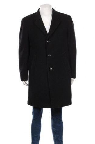 Palton de bărbați Commander, Mărime XL, Culoare Negru, 60% lână, 40% poliester, Preț 212,21 Lei
