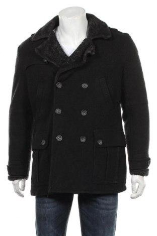Мъжко палто Dolce & Gabbana, Размер L, Цвят Черен, 100% вълна, Цена 261,00лв.