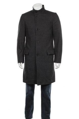 Palton de bărbați Hugo Boss, Mărime M, Culoare Gri, 80% lână, 20% poliamidă, Preț 716,21 Lei