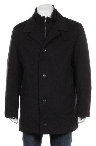 Palton de bărbați Hugo Boss, Mărime L, Culoare Negru, 90% lână, 10% cașmir, Preț 716,21 Lei