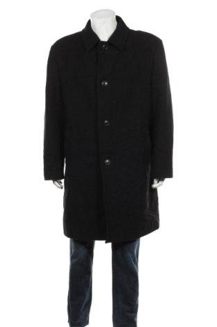 Palton de bărbați Wool & Cashmere, Mărime XL, Culoare Negru, 70% lână, 20% poliester, 10% poliamidă, Preț 258,63 Lei