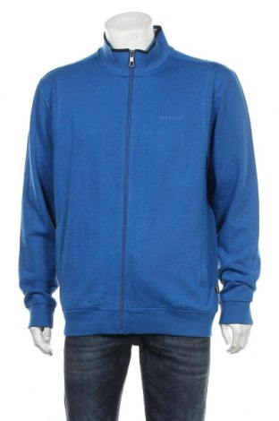 Мъжко спортно горнище, Размер L, Цвят Син, 65% полиестер, 35% памук, Цена 19,95лв.