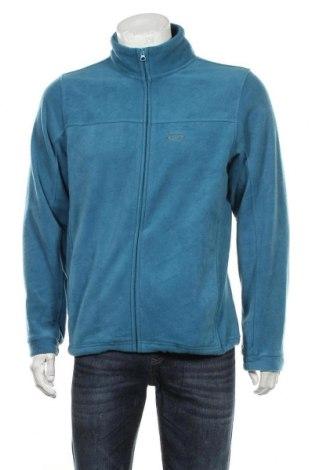 Мъжко поларено горнище Oakley, Размер M, Цвят Син, Полиестер, Цена 44,10лв.