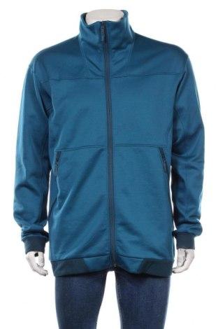 Мъжко спортно горнище, Размер XL, Цвят Син, 94% полиестер, 6% еластан, Цена 25,20лв.