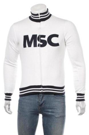 Мъжко спортно горнище, Размер S, Цвят Бял, 80% памук, 20% полиестер, Цена 19,95лв.