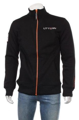Мъжко спортно горнище, Размер L, Цвят Черен, 65% памук, 35% полиестер, Цена 30,45лв.