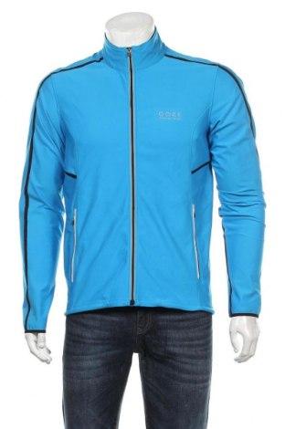 Мъжко спортно горнище Gore, Размер L, Цвят Син, 87% полиестер, 13% еластан, Цена 93,45лв.