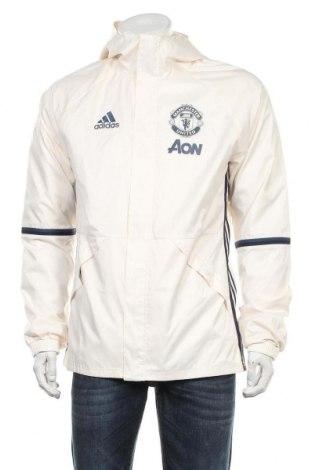 Мъжко спортно яке Adidas, Размер M, Цвят Екрю, Полиестер, Цена 51,00лв.
