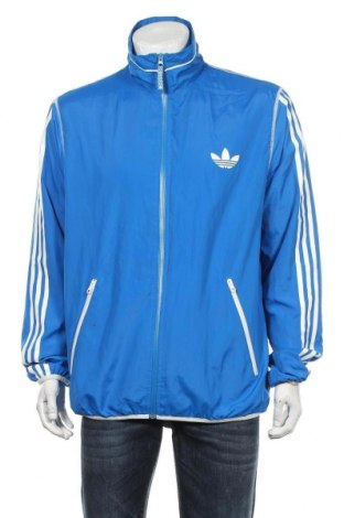Мъжко спортно яке Adidas Originals, Размер L, Цвят Син, Полиестер, Цена 51,00лв.