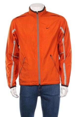 Geacă sport de bărbați Nike, Mărime M, Culoare Portocaliu, Poliester, Preț 63,67 Lei